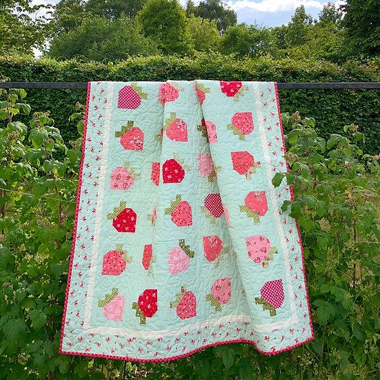 Wild Strawberries Paper Pattern