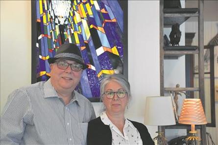 Une exposition pour deux artistes qui ne font qu'un