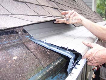 Keep your gutters clean - A yukky chore