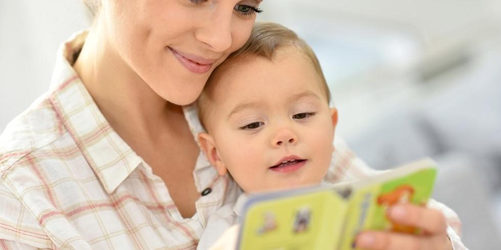 ספרים ושפה מגיל לידה ועד גיל שנתיים