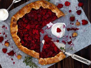 Raspberry Thyme Galette