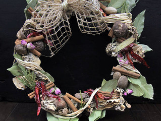 Making Herbal Wreaths