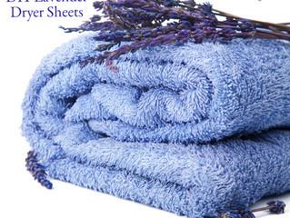 DIY Lavender Dryer Sheets