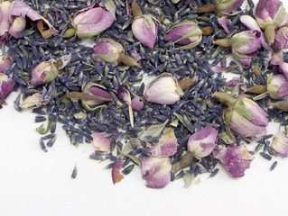 Rose & Lavender Perfume Powder