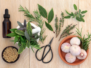 Herbs for Cold & Flu