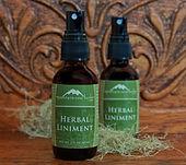 Healing herbal sprays made from organic herbs.