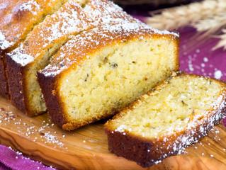 Lavender Pound Cake
