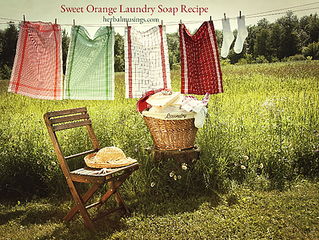 Sweet Orange Laundry Soap