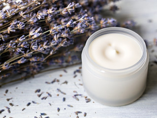 DIY Lavender Sunscreen
