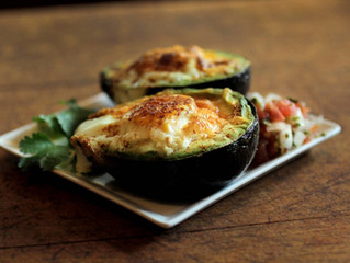 Baked Avocado & Egg Boats