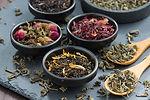 Organic teas and herbal tea blends.