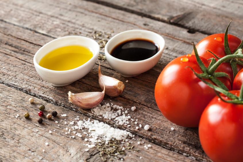 Rosemary and Garlic Balsamic Vinaigrette