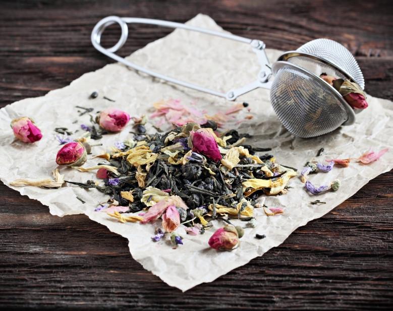 Summer Herb and Flower Tea