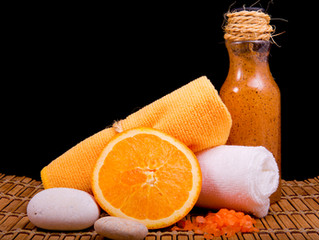 Almond & Orange Facial Scrub