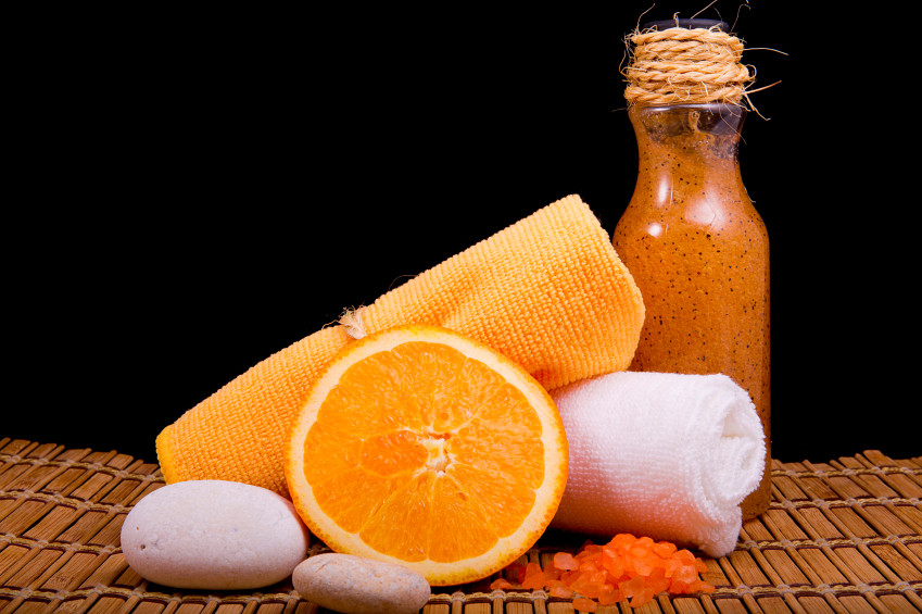 DIY Almond Orange Scrub