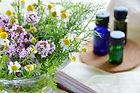 Organic essential oils, massage oils and carrier oils for mixing your own blends.