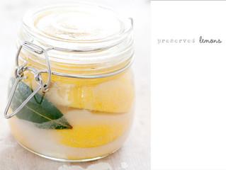 Spiced Preserved Lemons