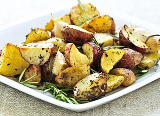 Roasted Garlic & Rosemary Potatoes