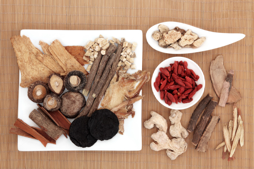 Chinese herbs and roots