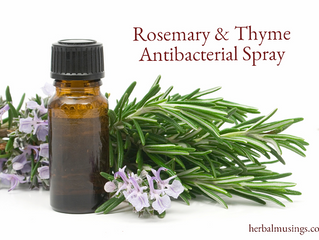 Rosemary & Thyme Antibacterial Spray
