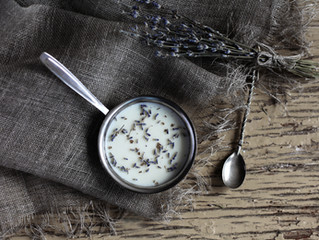 Lavender Panna Cotta