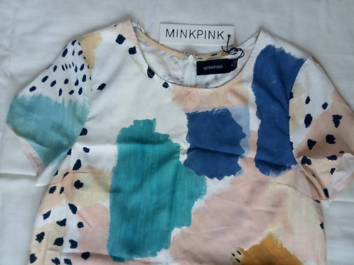 MinkPink Shift Dress Medium