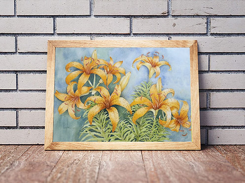 Yellow Spotted Lilies