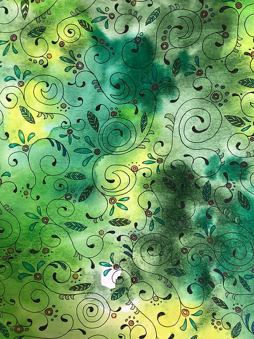 Spring Swirls Wallpaper