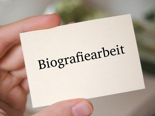 Biografiearbeit als wichtiger Bestandteil der Pflege (8 UE; 09.05.2022)