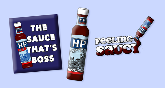 Kraft Heinz HP Sauce Product Creative