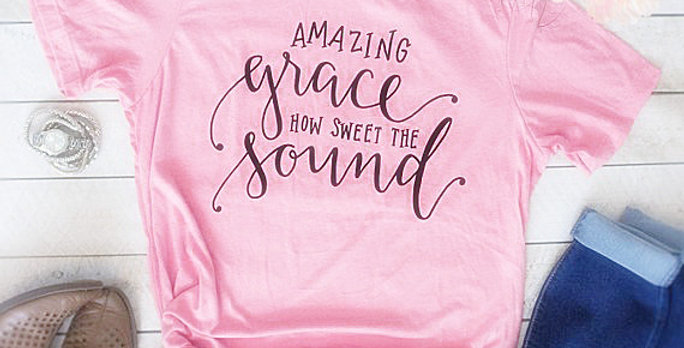 Amazing Grace How Sweet the Sound Cross