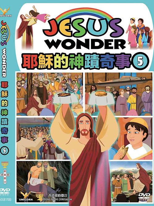 <耶穌的神蹟奇事> VOL.5 (聖經動畫)