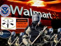 共濟會-沃爾瑪超市陸續關閉-地底集中營-軍法統治-666獸印芯片-先知預言 Walmart Closed... FEMA Opened!
