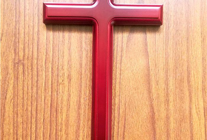 Medium 40cm Wall hanging Cross  Oak Wood Cross Christian