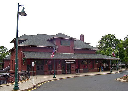 NJ Transit station, Summit, New Jersey