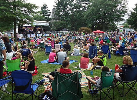Free outdoor concerts in Summit, New Jersey