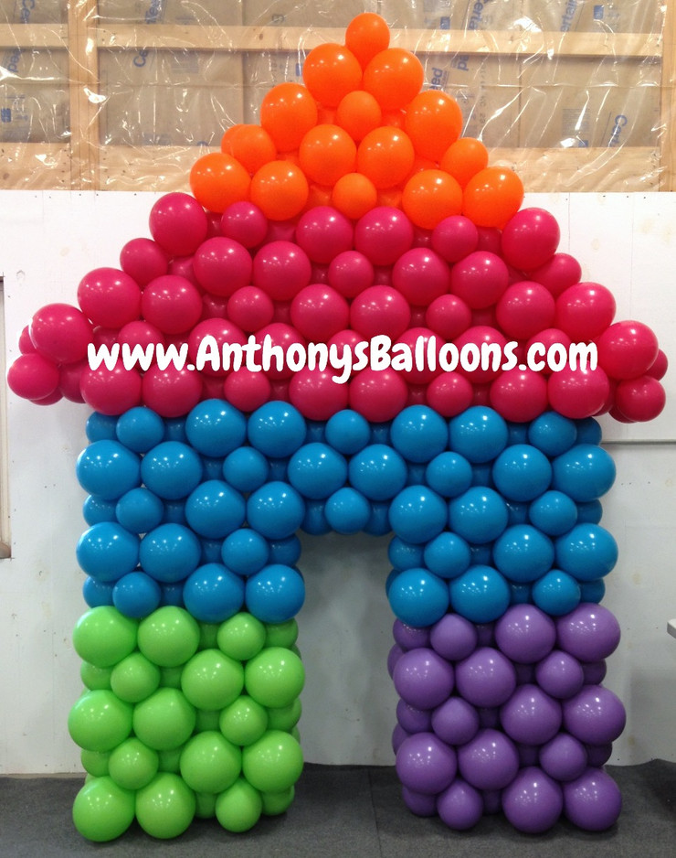 Pride House Balloon Wall