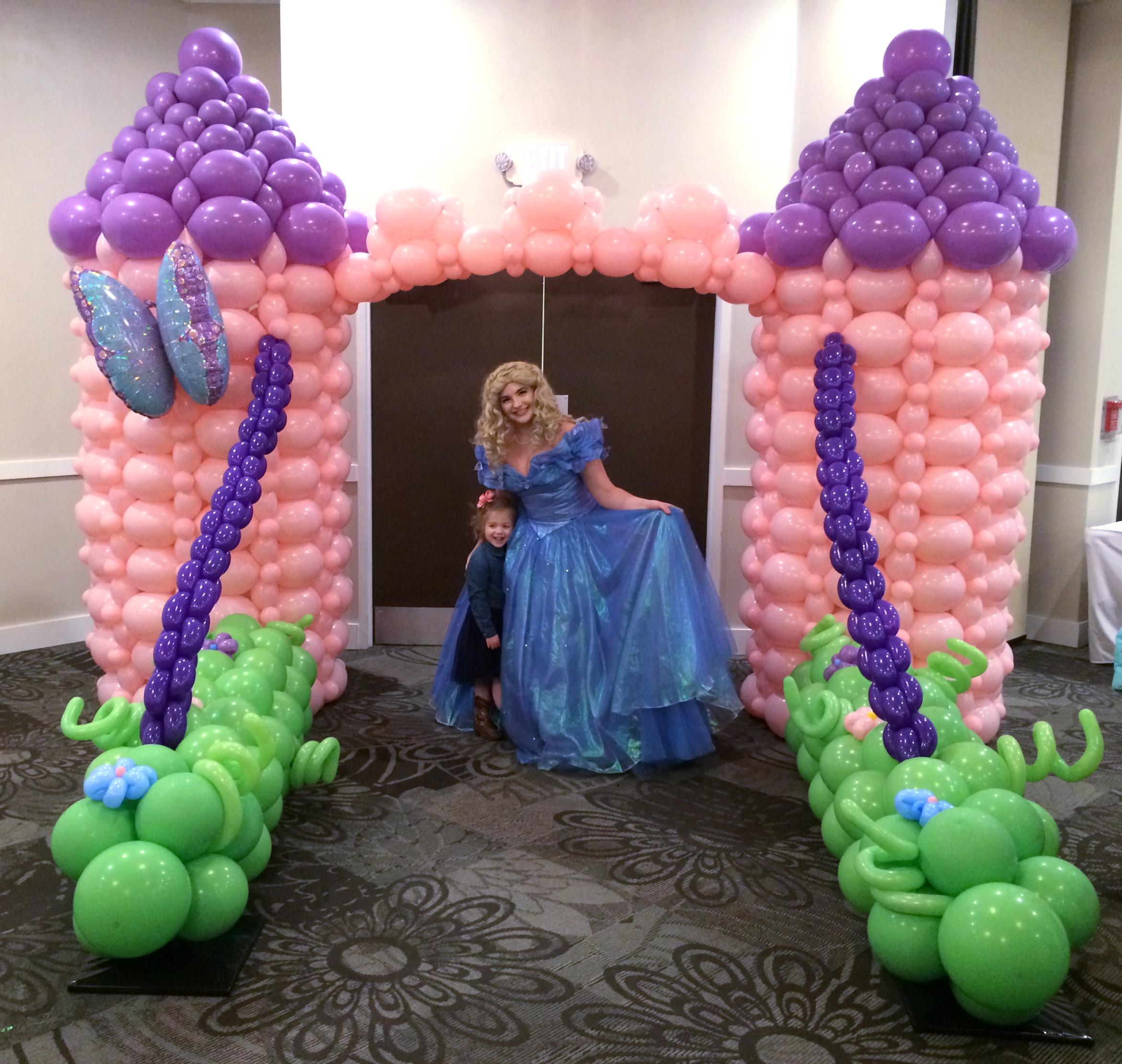 Princess Castle Balloon Sculpture