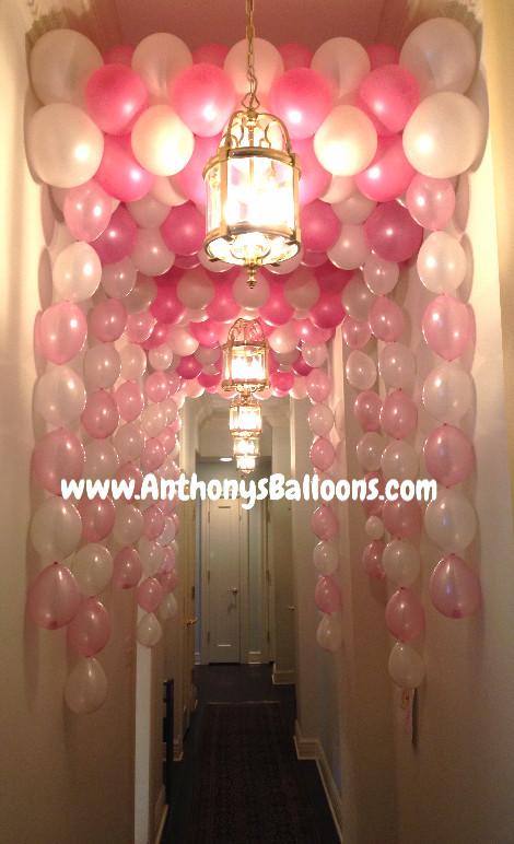 Hallway Balloon Tunnel