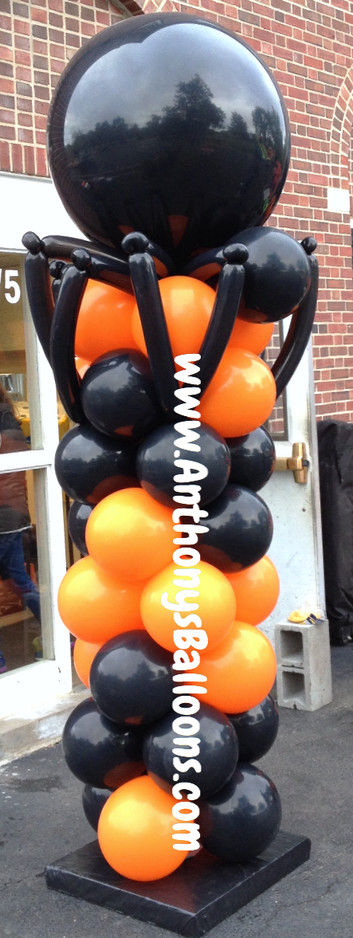 Spider Balloon Column