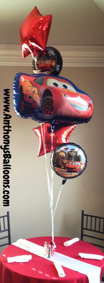 Birthday Helium Arrangement