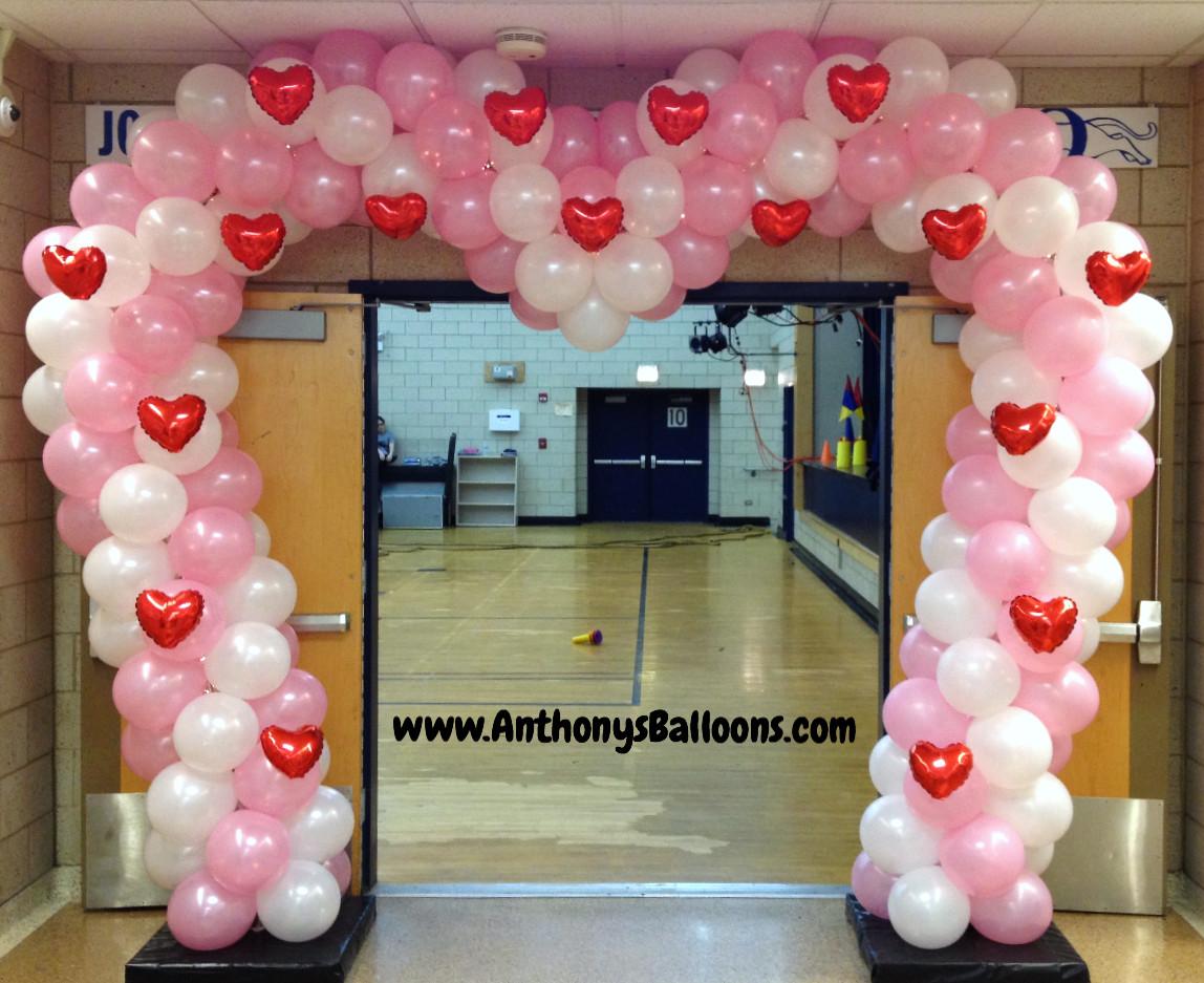 Heart Shaped Balloon Arch