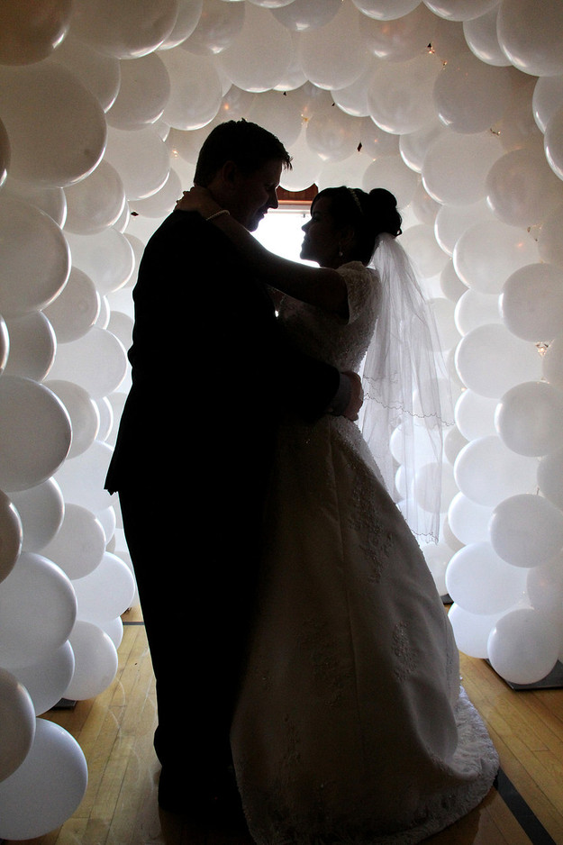 Wedding Balloon Tunnel