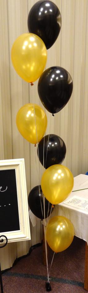 8x Balloon Cascade