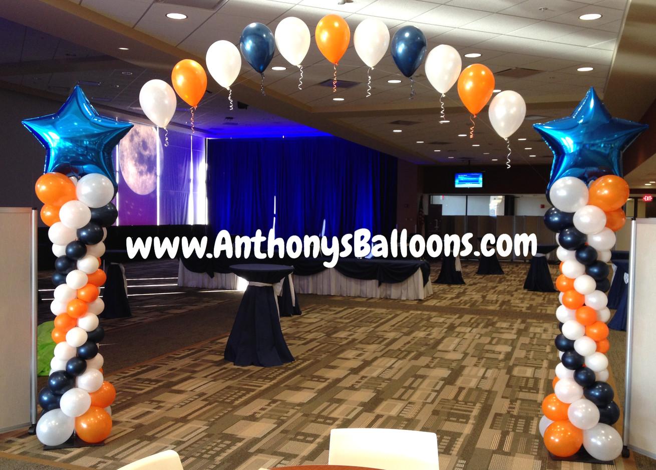 Standard String Arch w/ Balloon Columns