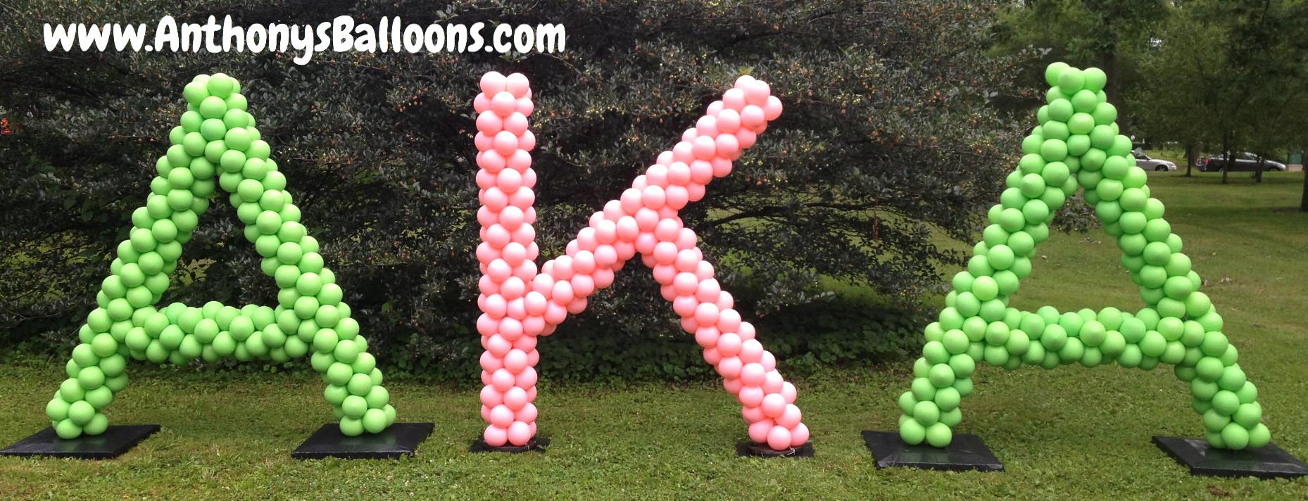 Letter Balloon Sculpture - 6ft