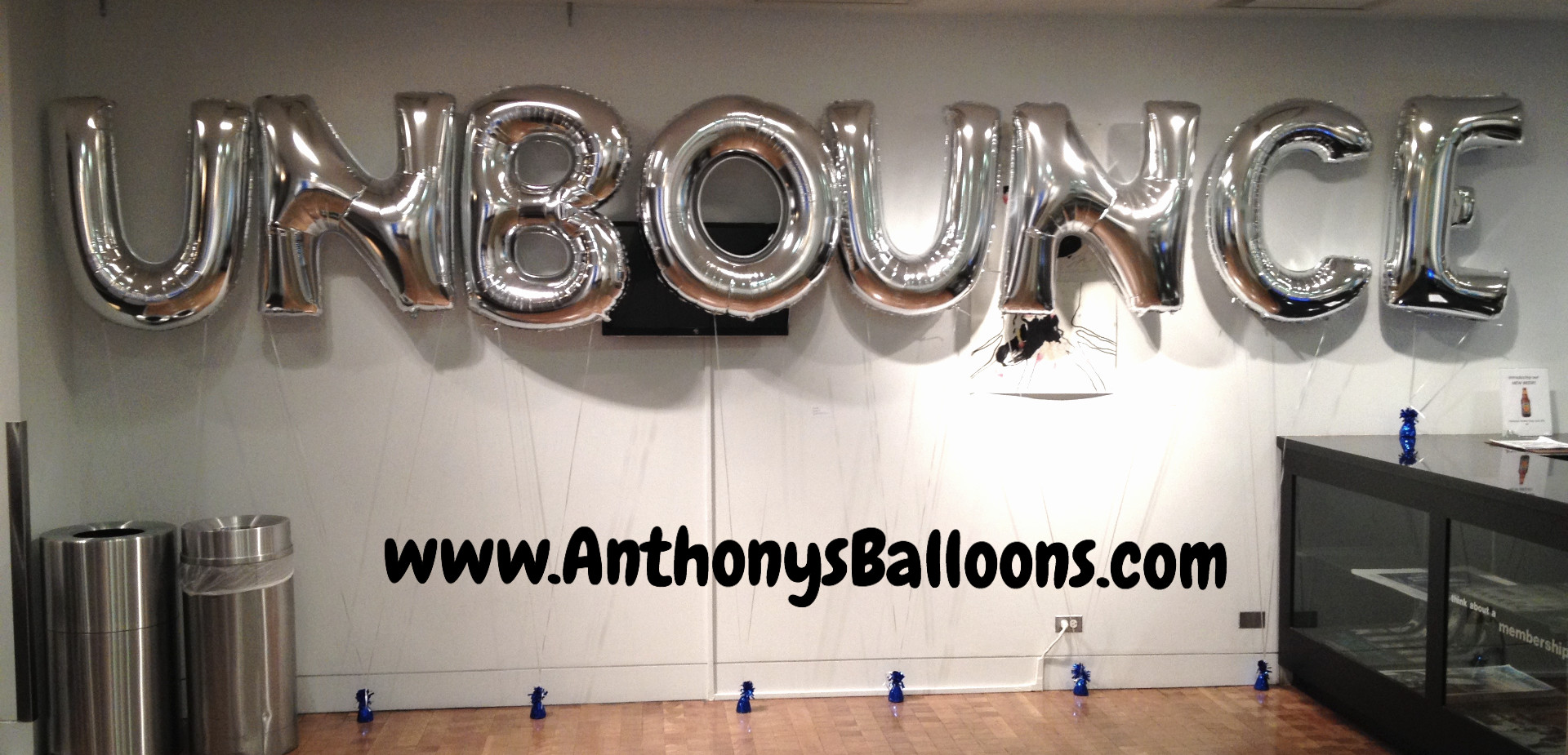 Individually Weighted 40_ Letter Balloon