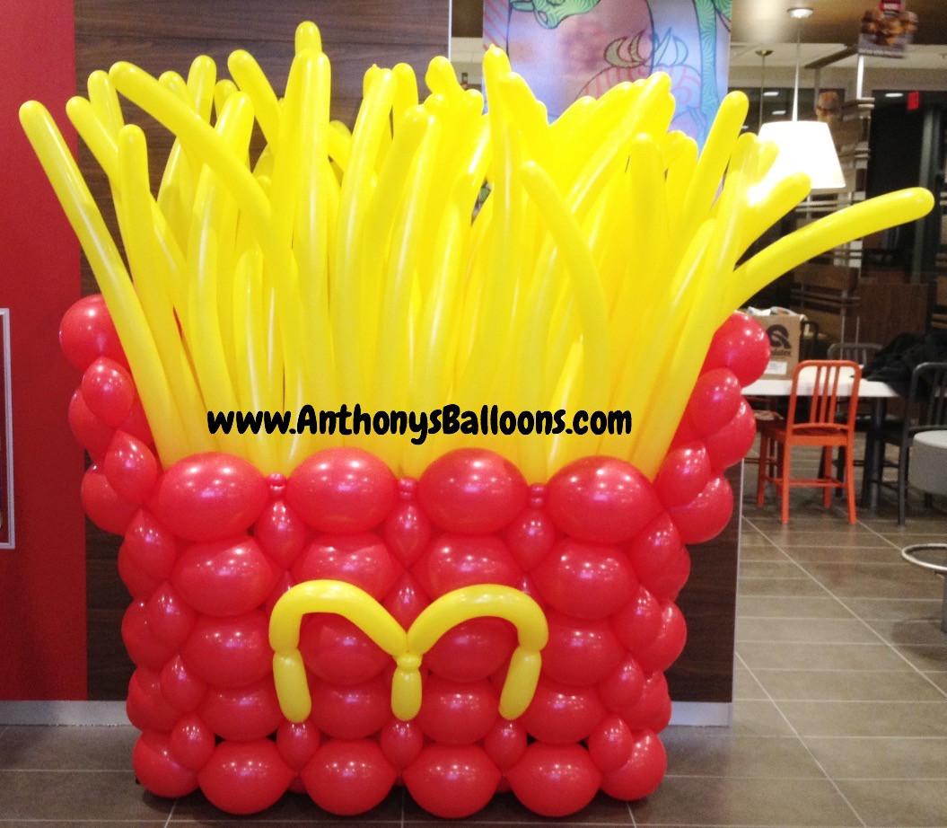 Fries Balloon Sculpture