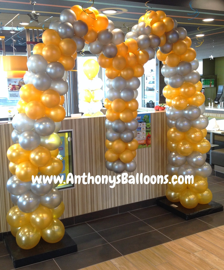 McDonalds Balloon Arch 2