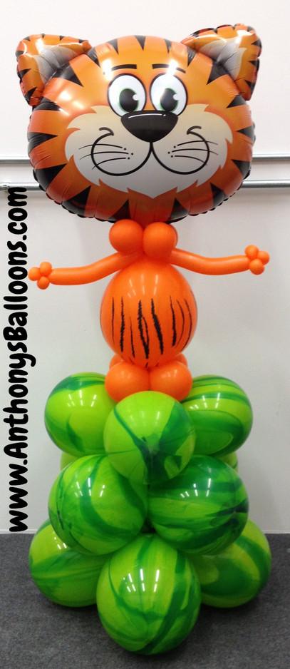 Tiger Character Balloon